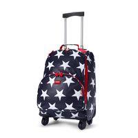Navy Star Wheelie Bag (4 Wheels)