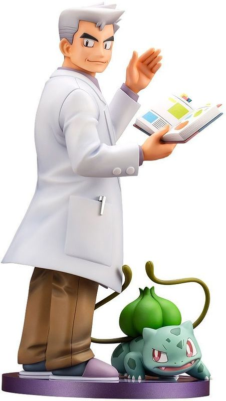 Pokemon: ARTFX-J 1/8 Professor Oak with Bulbasaur - PVC Figure