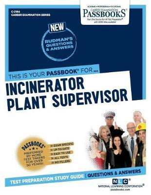 Incinerator Plant Supervisor by National Learning Corporation image