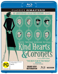 Kind Hearts And Coronets on Blu-ray image