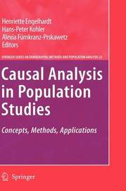 Causal Analysis in Population Studies