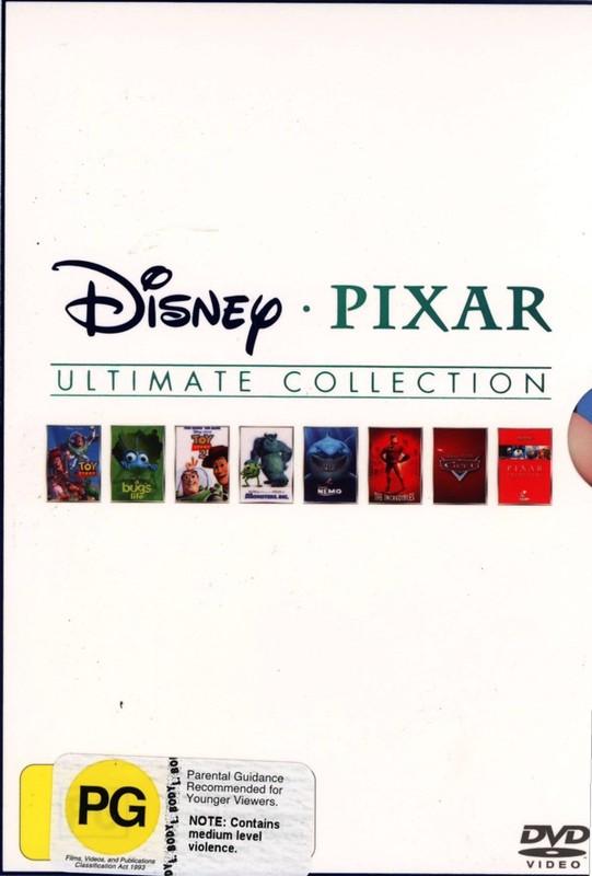 Disney Pixar Ultimate Collection (8 Disc Box Set) on DVD