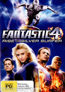 Fantastic 4 - Rise Of The Silver Surfer on DVD