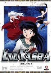 InuYasha - Vol 01 on DVD