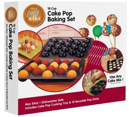 daily bake cake pop baking set at mighty ape nz. Black Bedroom Furniture Sets. Home Design Ideas