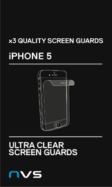 NVS Screen Guard for iPhone 5 (Clear)