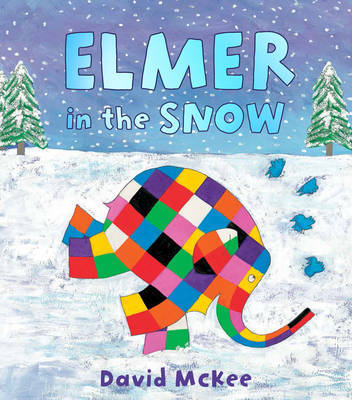 Elmer in the Snow by David McKee image