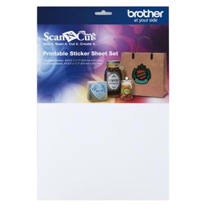 Brother Scan N Cut Print Sticker SH Kit image