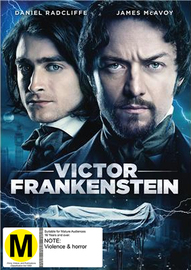 Victor Frankenstein on DVD