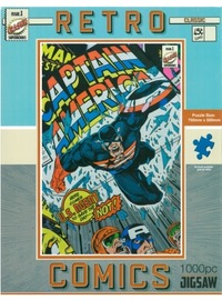 Hinkler: Retro Captain America Puzzle - 1000pc