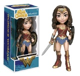 DC Comics: Wonder Woman (with Shield) - Rock Candy Vinyl Figure