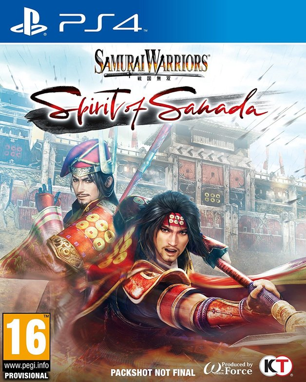 Samurai Warriors Spirit of Sanada for PS4