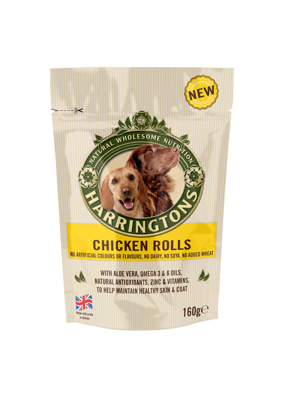 Harringtons Dog Treats Chicken Rolls 160g At Mighty Ape Nz
