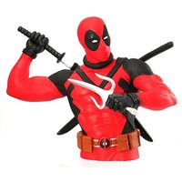Marvel: Deadpool with Katana - Bust Bank