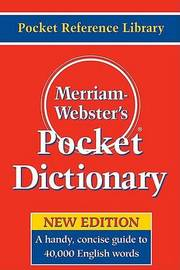 Merriam Webster's Pocket Dictionary image
