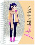 Miss Modeline A6 Notepad and Design Book - Rosalie