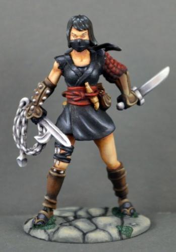 Dark Heaven: Kiri, Female Ninja