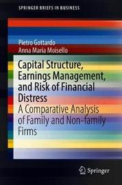 Capital Structure, Earnings Management, and Risk of Financial Distress by Pietro Gottardo