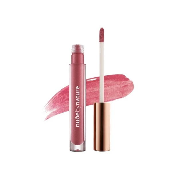 Nude By Nature: Moisture Infusion Lipgloss - #08 Violet Pink
