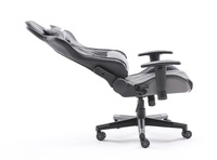 Playmax Elite Gaming Chair - Steel Grey and Black for