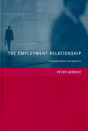 The Employment Relationship by Peter Herriot image