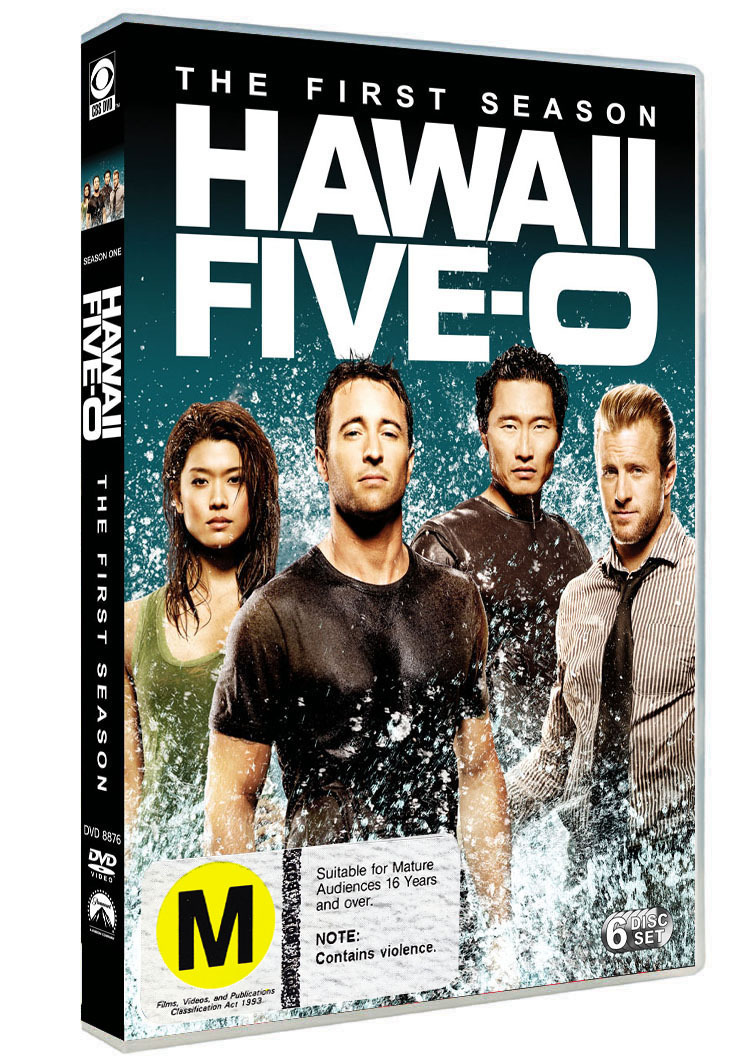 Hawaii Five-O - The Complete First Season on DVD image