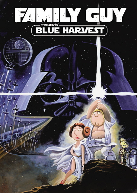 Family Guy Presents Blue Harvest on DVD