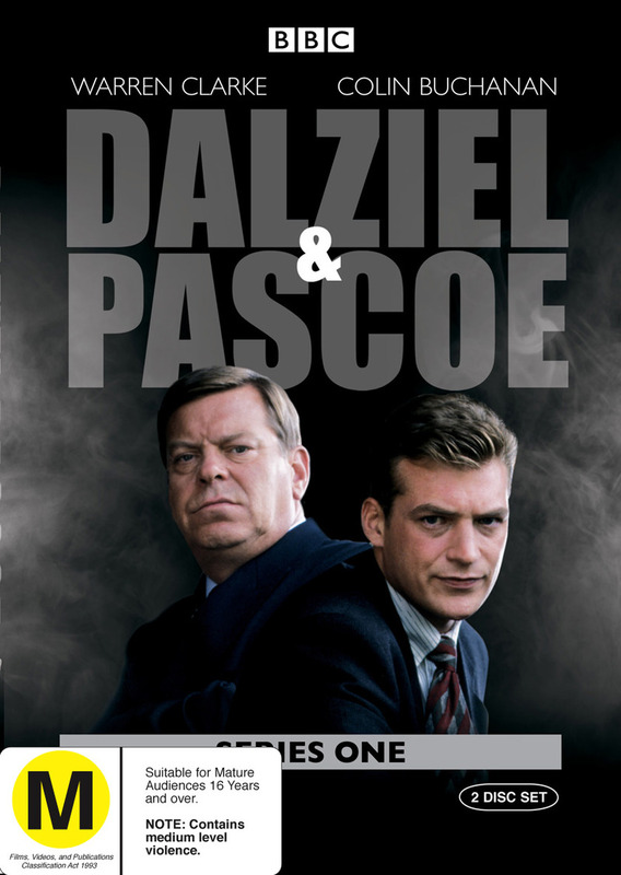 Dalziel And Pascoe - Series 1 (2 Disc Set) on DVD
