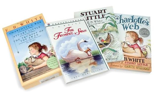 E. B. White Classics Box Set (Charlotte's Web / Stuart Little / Trumpet of the Swan) by E White