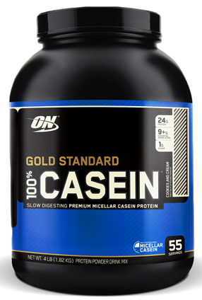 Optimum Nutrition Gold Standard 100% Casein - Cookies & Cream (1.81kg)