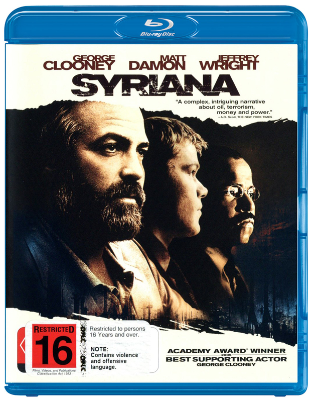 Syriana on Blu-ray