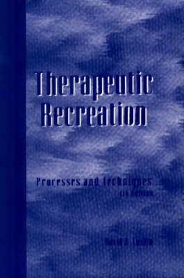 Therapeutic Recreation by David R. Austin image