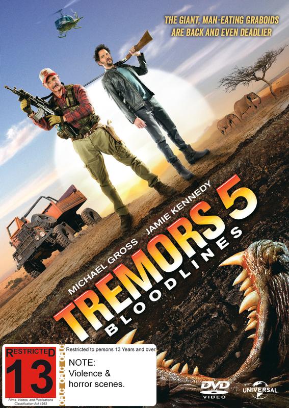 Tremors 5: Bloodlines on DVD