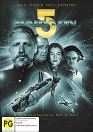 Babylon 5 - The Movie Collection (5 Disc Set) on DVD image