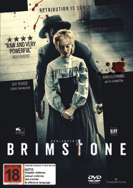 Brimstone on DVD