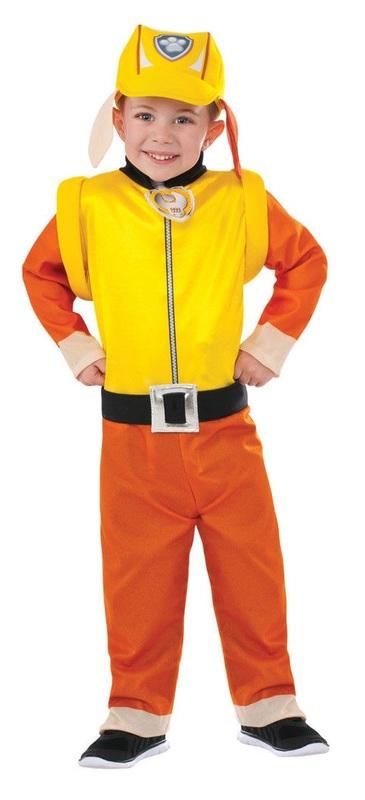 Paw Patrol: Rubble - Classic Costume (Small)
