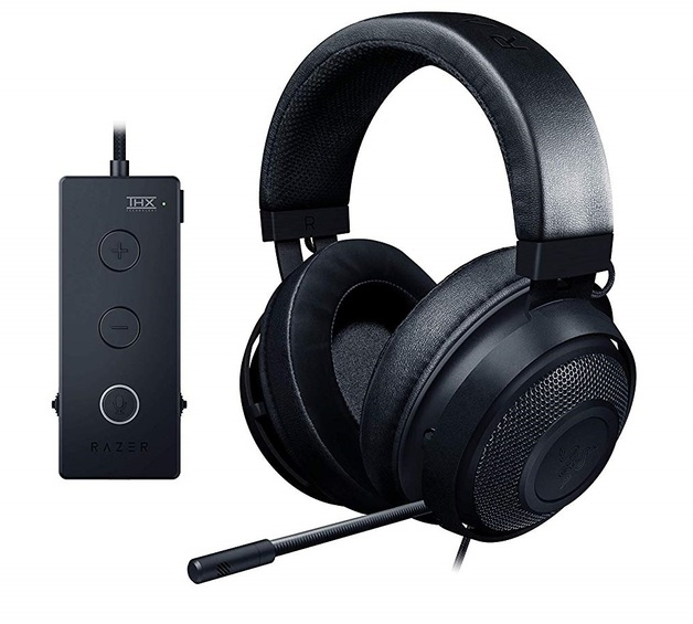 Razer Kraken Tournament Edition Gaming Headset - Black for PC Games