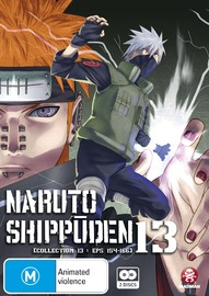 Naruto Shippuden Collection 13 on DVD
