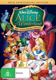Alice in Wonderland: 60th Anniversary Edition on DVD