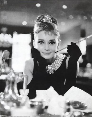 ef757a445e1a Audrey Hepburn Breakfast at Tiffany's Canvas Print | at Mighty Ape NZ