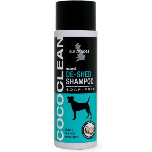 IOD: CocoClean DeShedding Shampoo Violet And Sea Mist 250ml