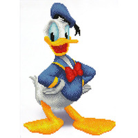 Diamond Dotz: Disney Facet Art Kit - Donald (31 x 43cm)