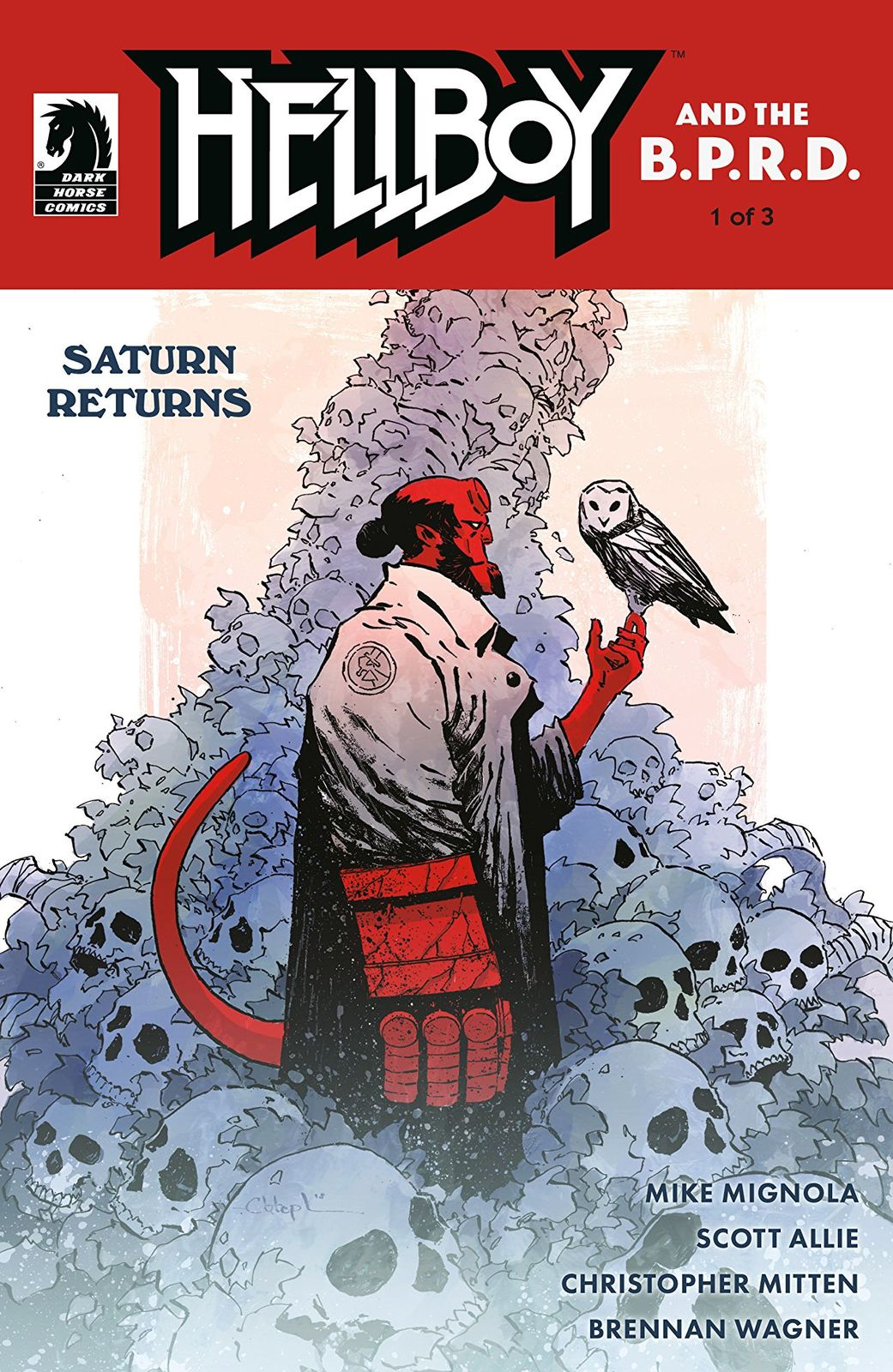 Hellboy and the B.P.R.D. - Saturn Returns #1 image