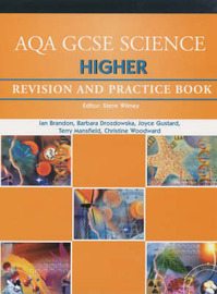 AQA GCSE Higher Science: Revision and Practice Book by Ian Brandon image