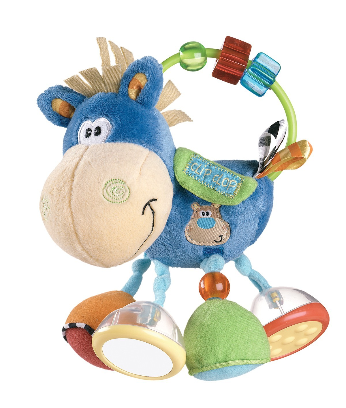 Playgro Clip Clop Activity Rattle image