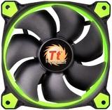 140mm ThermalTake Riing 14 Radiator Fan - Green LED