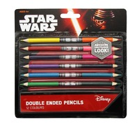 Star Wars - Double Sided Lightsaber Pencils