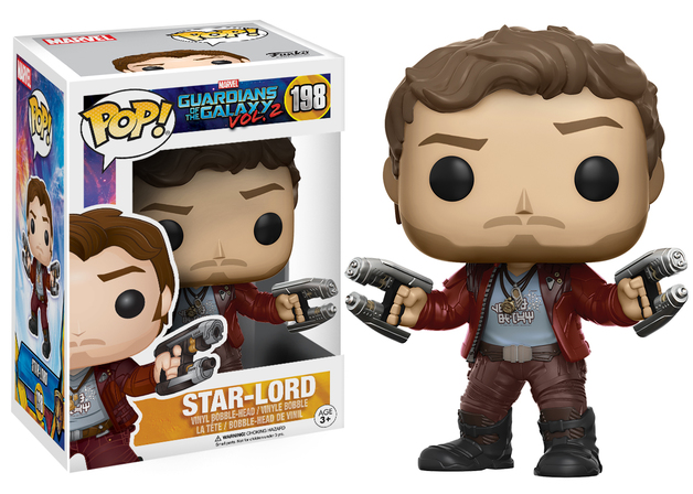 Guardians of the Galaxy: Vol. 2 - Star-Lord Pop! Vinyl Figure