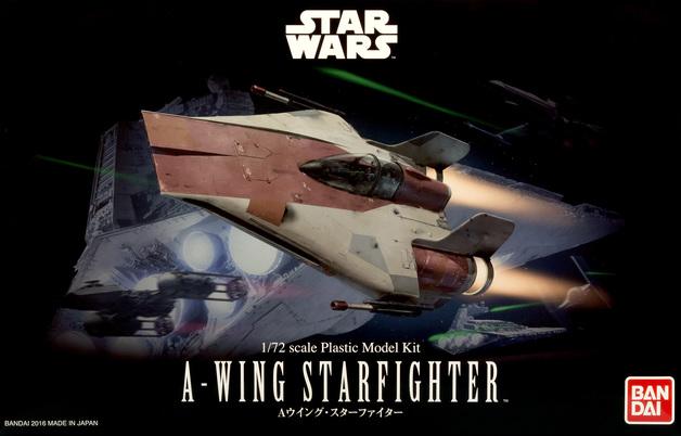Star Wars: 1/72 A-Wing Starfighter - Model Kit
