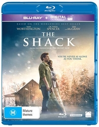 The Shack on Blu-ray